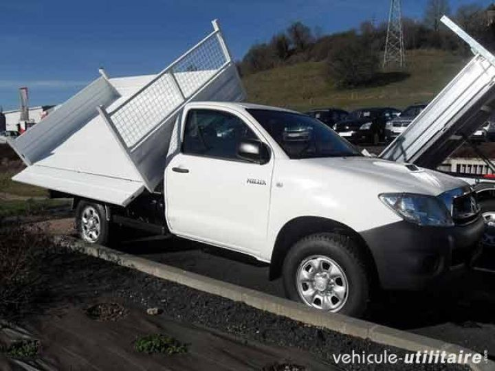 Chassis + body Toyota Hilux 2/3 way tipper body 2.5 D-4D 144 Simple Cab  - 1