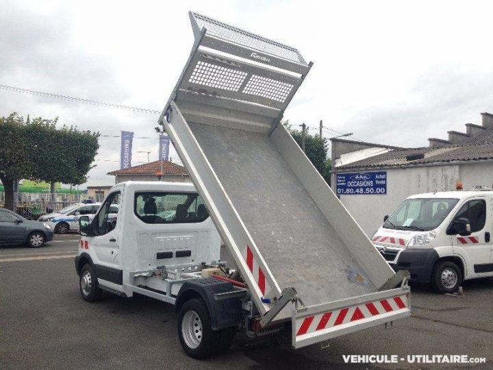 Chassis + body Ford Transit Back Dump/Tipper body custom benne alu 155ch clim blanc - 4
