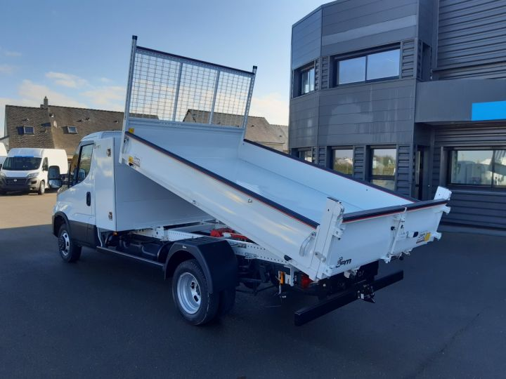 Chassis + body Iveco CF75 Back Dump/Tipper body 35C16H benne acier JPM + coffre BLANC - 4