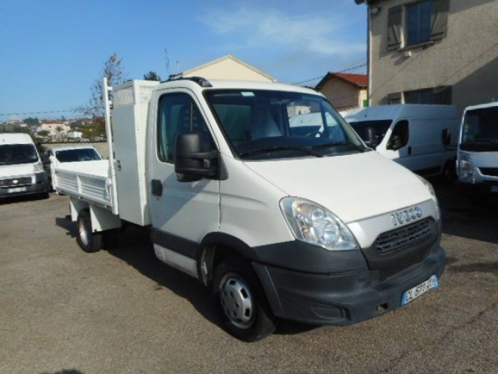 Chassis + body Iveco Daily Back Dump/Tipper body 35C13 BENNE + COFFRE  - 1