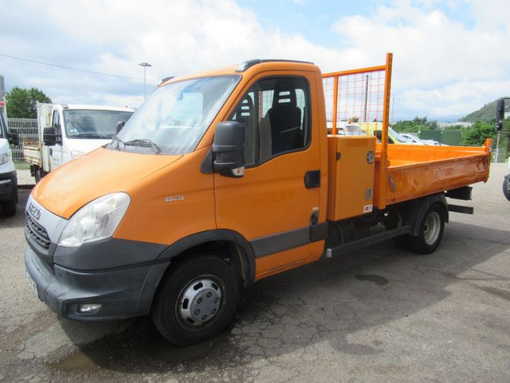 Chassis + body Iveco Daily Back Dump/Tipper body 35C13 BENNE + COFFRE  - 2