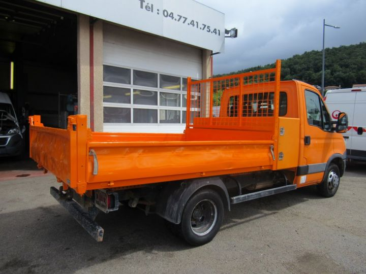 Chassis + body Iveco Daily Back Dump/Tipper body 35C13 BENNE + COFFRE  - 4