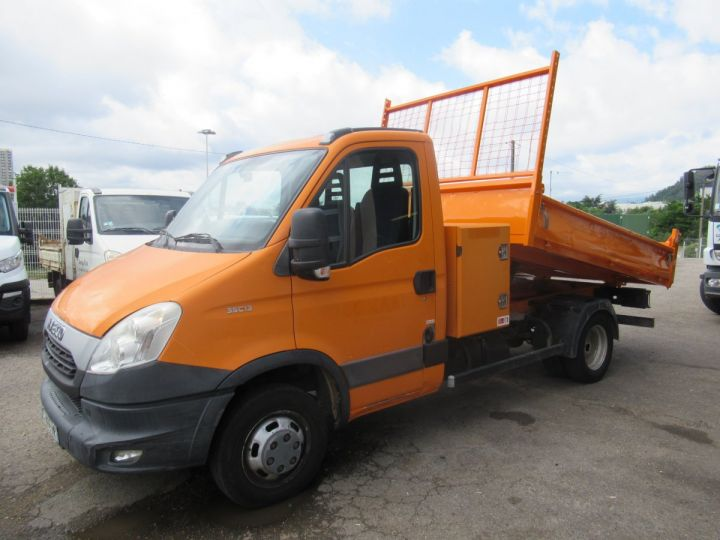 Chassis + body Iveco Daily Back Dump/Tipper body 35C13 BENNE + COFFRE  - 5