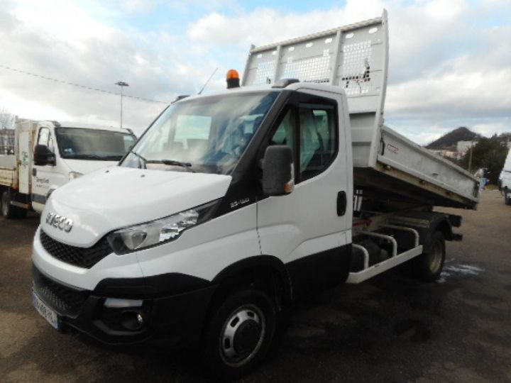 Chassis + body Iveco Daily Back Dump/Tipper body 35C15 BENNE  - 5