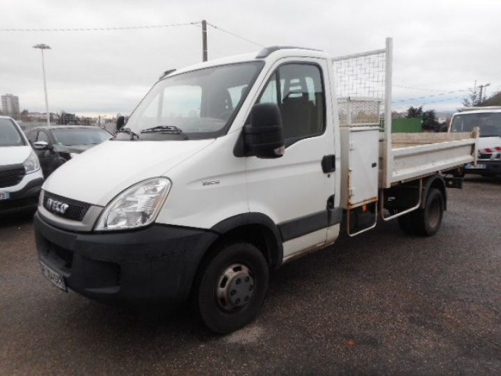 Chassis + body Iveco Daily Back Dump/Tipper body 35C15 BENNE + COFFRE  - 2
