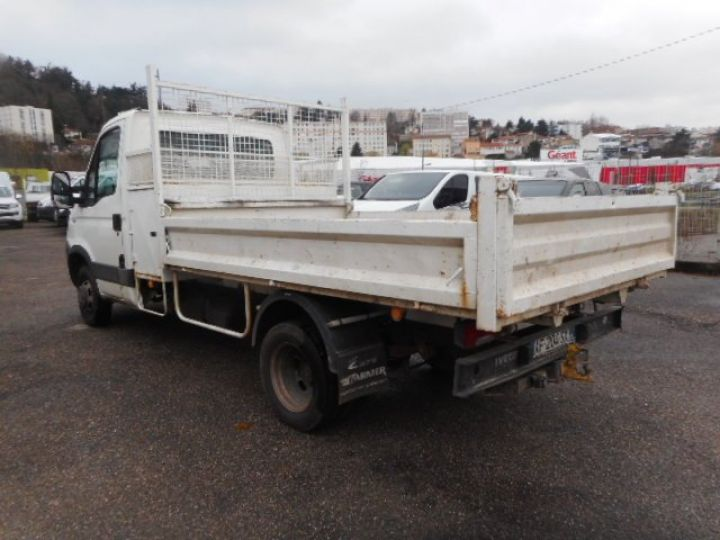 Chassis + body Iveco Daily Back Dump/Tipper body 35C15 BENNE + COFFRE  - 3