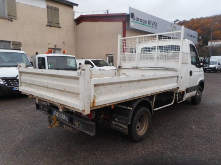 Chassis + body Iveco Daily Back Dump/Tipper body 35C15 BENNE + COFFRE  - 4
