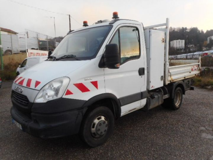 Chassis + body Iveco Daily Back Dump/Tipper body 35C15 BENNE + COFFRE  - 1