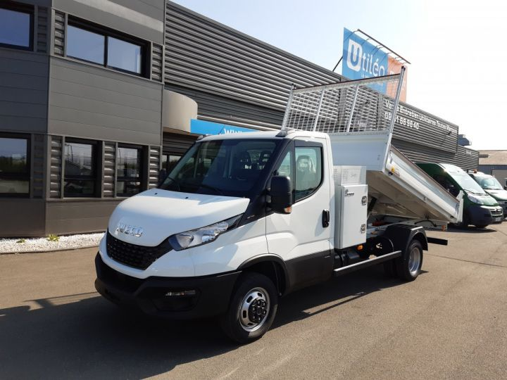 Chassis + body Iveco Daily Back Dump/Tipper body 35C16H 3.0HPI 160CH EMP 3750 TOR BLANC - 1
