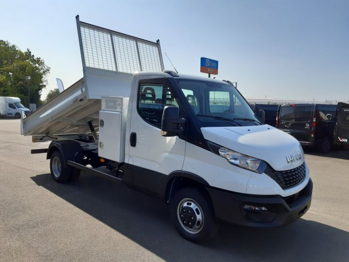 Chassis + body Iveco Daily Back Dump/Tipper body 35C16H 3.0HPI 160CH EMP 3750 TOR BLANC - 2