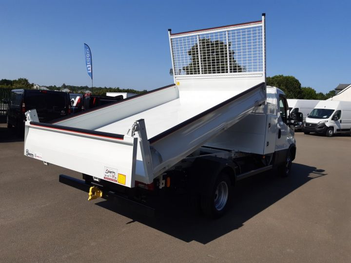Chassis + body Iveco Daily Back Dump/Tipper body 35C16H 3.0HPI 160CH EMP 3750 TOR BLANC - 3