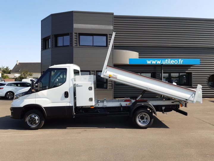 Chassis + body Iveco Daily Back Dump/Tipper body 35C16H 3.0HPI 160CH EMP 3750 TOR BLANC - 6