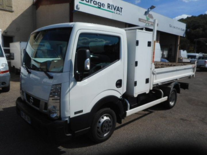 Chassis + body Nissan Cabstar Back Dump/Tipper body 35.14 BENNE + COFFRE  - 1