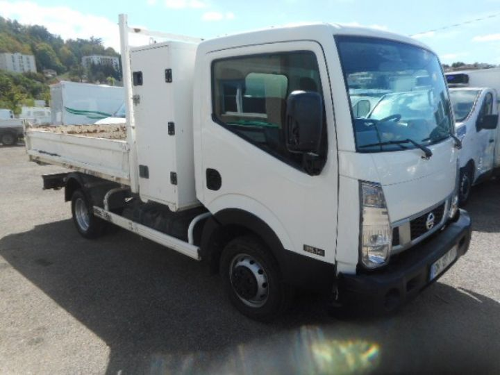 Chassis + body Nissan Cabstar Back Dump/Tipper body 35.14 BENNE + COFFRE  - 2