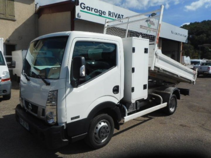 Chassis + body Nissan Cabstar Back Dump/Tipper body 35.14 BENNE + COFFRE  - 6