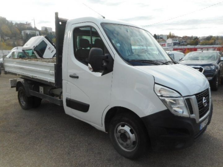 Chassis + body Nissan NV400 Back Dump/Tipper body DCI 135 BENNE  - 2