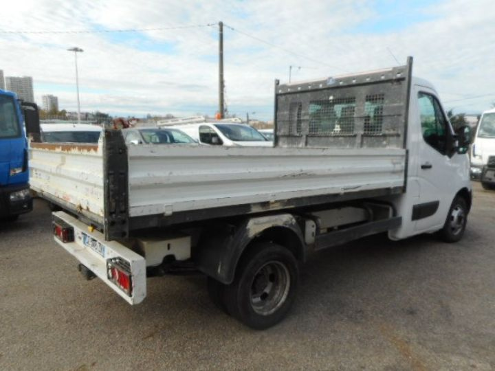 Chassis + body Nissan NV400 Back Dump/Tipper body DCI 135 BENNE  - 3
