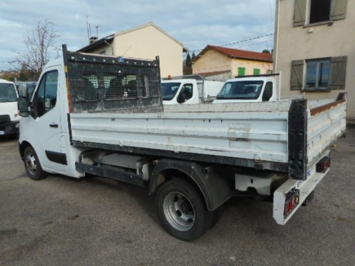 Chassis + body Nissan NV400 Back Dump/Tipper body DCI 135 BENNE  - 4