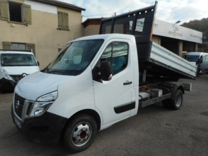 Chassis + body Nissan NV400 Back Dump/Tipper body DCI 135 BENNE  - 5