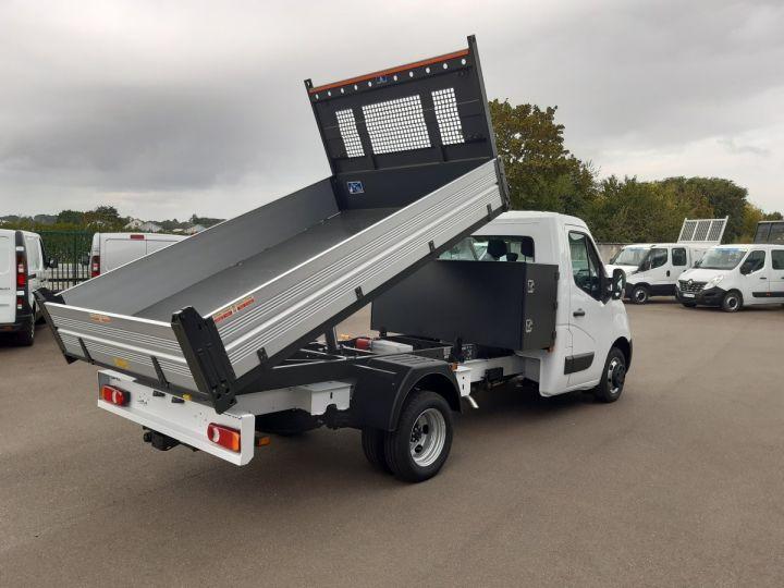 Chassis + body Opel Movano Back Dump/Tipper body 3.5 RJ 2.3 CDTI 145CV BLANC - 3