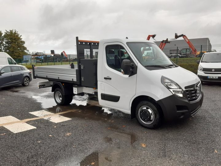 Chassis + body Opel Movano Back Dump/Tipper body ROUES JUMELEES 2.3 CDTI 145CV BENNE ET COFFRE BLANC - 2