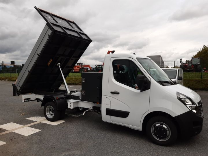 Chassis + body Opel Movano Back Dump/Tipper body ROUES JUMELEES 2.3 CDTI 145CV BENNE ET COFFRE BLANC - 3