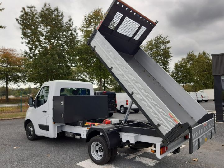 Chassis + body Opel Movano Back Dump/Tipper body ROUES JUMELEES 2.3 CDTI 145CV BENNE ET COFFRE BLANC - 5