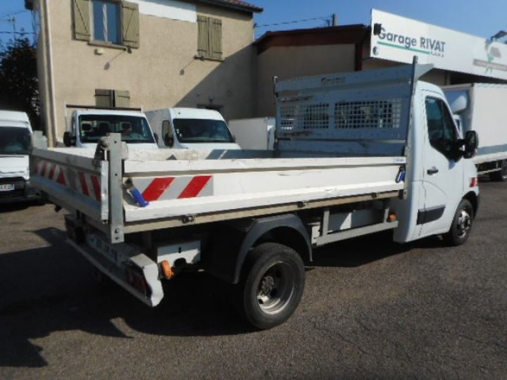 Chassis + body Renault Master Back Dump/Tipper body DCI 125 BENNE  - 3