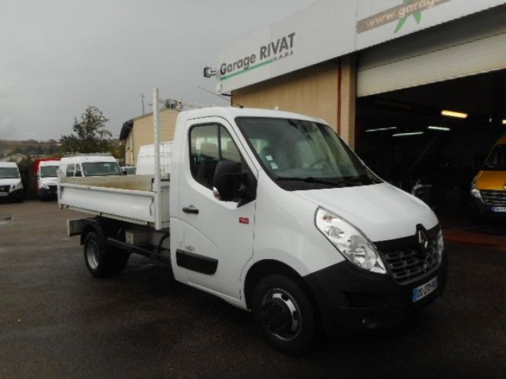 Chassis + body Renault Master Back Dump/Tipper body DCI 125 BENNE  - 1