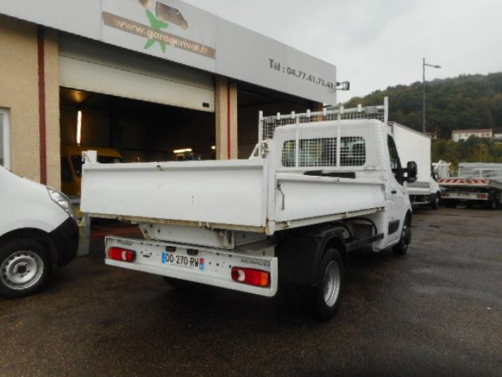 Chassis + body Renault Master Back Dump/Tipper body DCI 125 BENNE  - 2