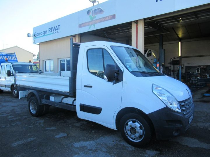 Chassis + body Renault Master Back Dump/Tipper body DCI 150 BENNE  - 1