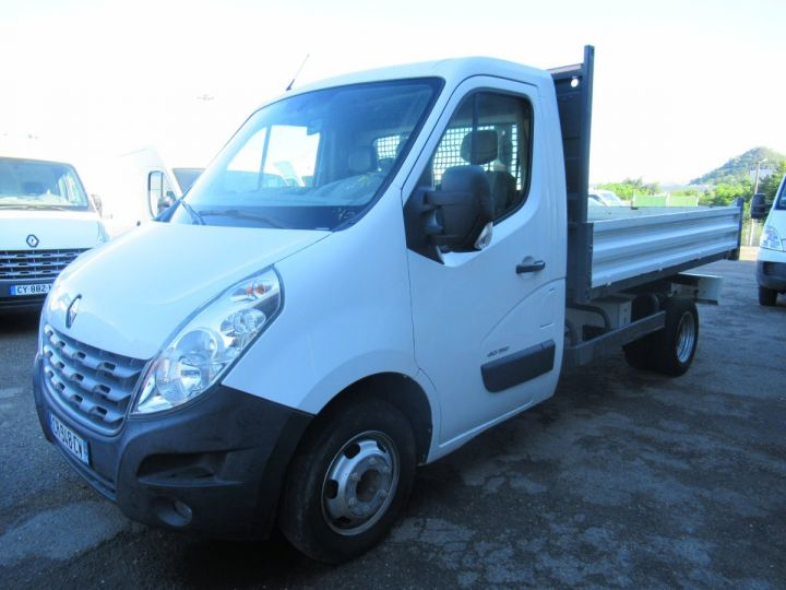 Chassis + body Renault Master Back Dump/Tipper body DCI 150 BENNE  - 2