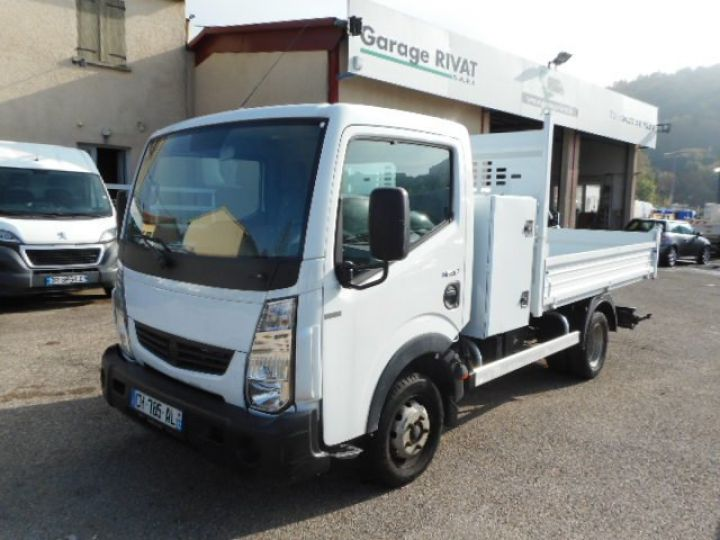 Chassis + body Renault Maxity Back Dump/Tipper body 120.35 BENNE + COFFRE  - 1