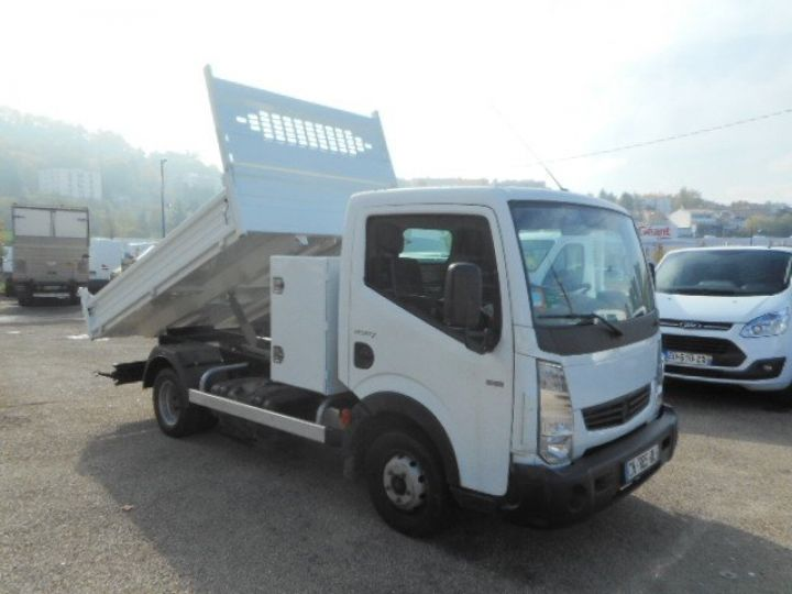 Chassis + body Renault Maxity Back Dump/Tipper body 120.35 BENNE + COFFRE  - 4