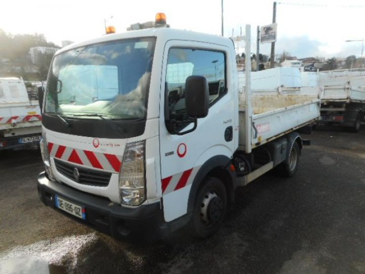 Chassis + body Renault Maxity Back Dump/Tipper body 140 BENNE  - 2