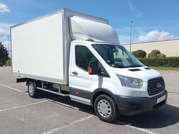 Chassis + body Ford Transit Box body CHASSIS CABINE T350 L4 2.0 TDCI 130 TREND Blanc - 1