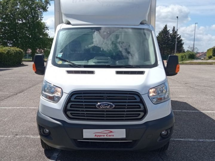 Chassis + body Ford Transit Box body CHASSIS CABINE T350 L4 2.0 TDCI 130 TREND Blanc - 2