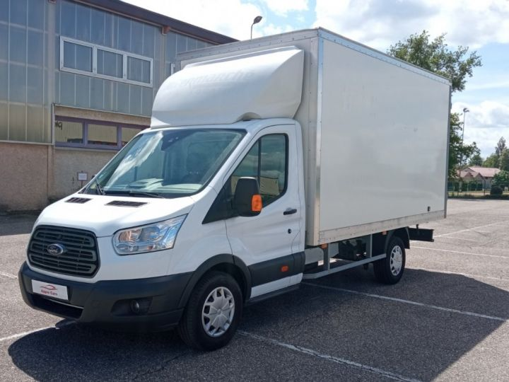 Chassis + body Ford Transit Box body CHASSIS CABINE T350 L4 2.0 TDCI 130 TREND Blanc - 3