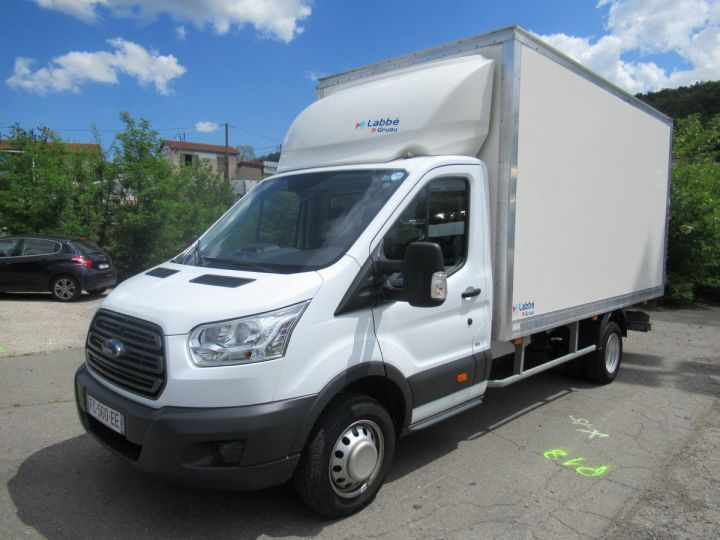 Chassis + body Ford Transit Box body + Lifting Tailboard TDCI 170 CAISSE + HAYON  - 1