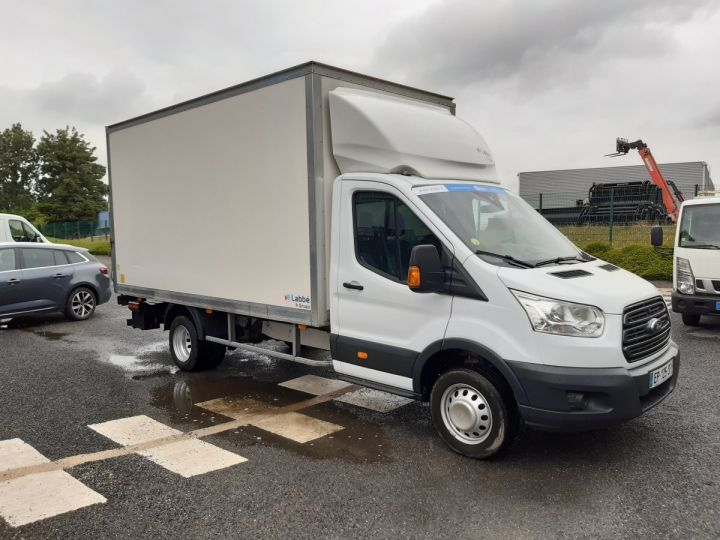 Chassis + body Ford Transit Box body + Lifting Tailboard TREND 130CV BLANC - 2