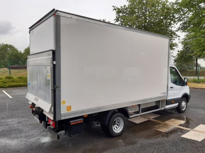 Chassis + body Ford Transit Box body + Lifting Tailboard TREND 130CV BLANC - 3