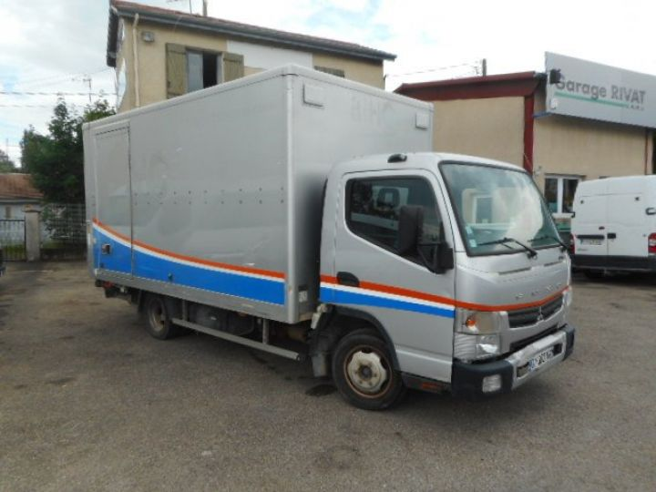 Chassis + body Mitsubishi Canter Box body + Lifting Tailboard 3C13 CAISSE + HAYON BOITE AUTOMATIQUE  - 1