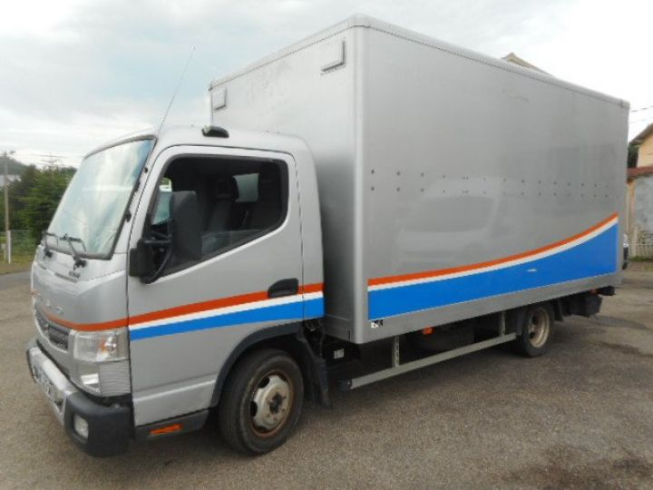 Chassis + body Mitsubishi Canter Box body + Lifting Tailboard 3C13 CAISSE + HAYON BOITE AUTOMATIQUE  - 2