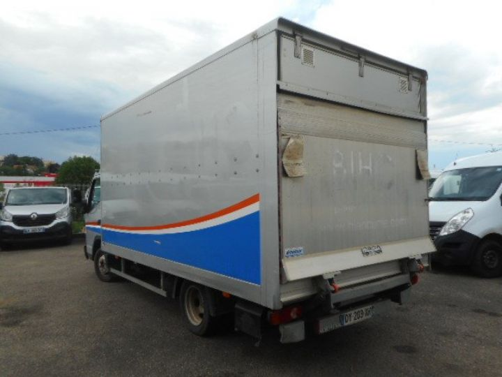 Chassis + body Mitsubishi Canter Box body + Lifting Tailboard 3C13 CAISSE + HAYON BOITE AUTOMATIQUE  - 3