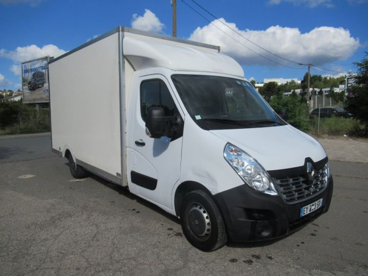 Chassis + body Renault Master Box body DCI 130 CAISSE BASSE  - 1
