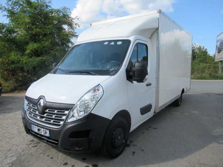 Chassis + body Renault Master Box body DCI 130 CAISSE BASSE  - 2