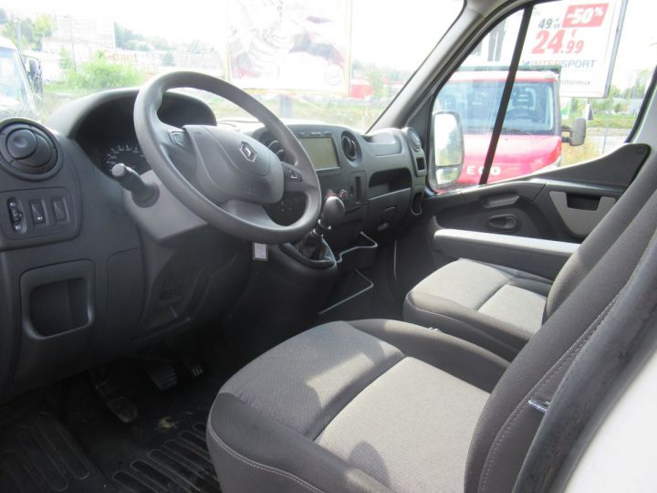 Chassis + body Renault Master Box body DCI 130 CAISSE BASSE  - 5
