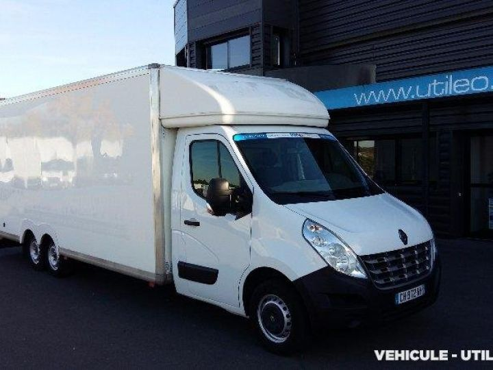 Chassis + body Renault Master Box body F3500 L2 DCI 125 CONFORT  - 1