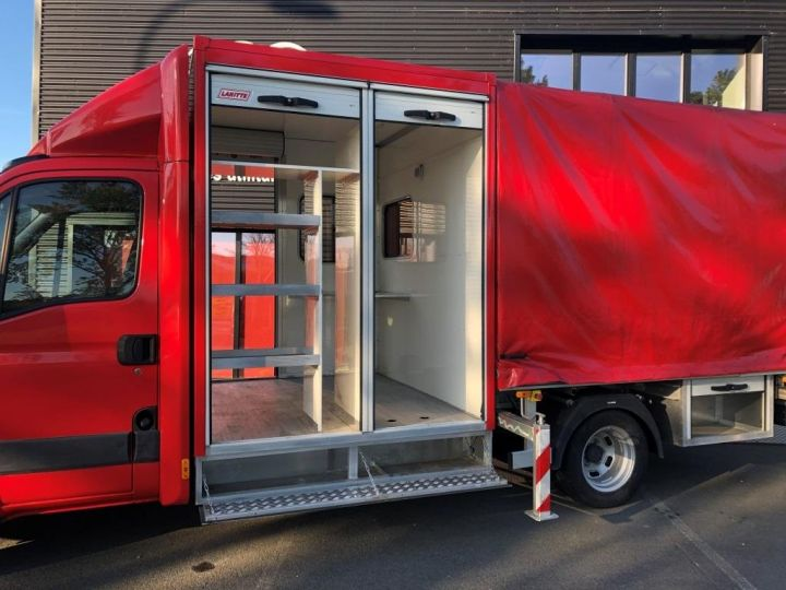 Chassis + body Iveco Daily Curtain side body BUREAU EXPO EVENEMENTIEL ROUGE - 6
