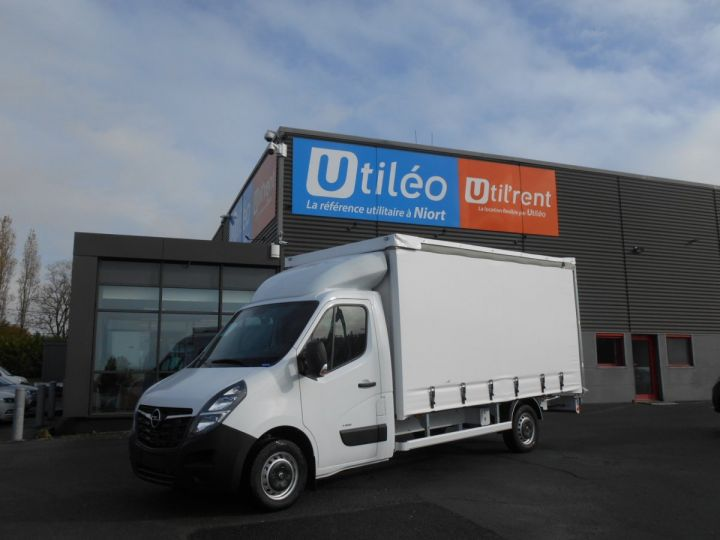 Chassis + body Opel Movano Curtain side body F3500 L3 2.3 CDTi 145 Tautliner Blanc - 1